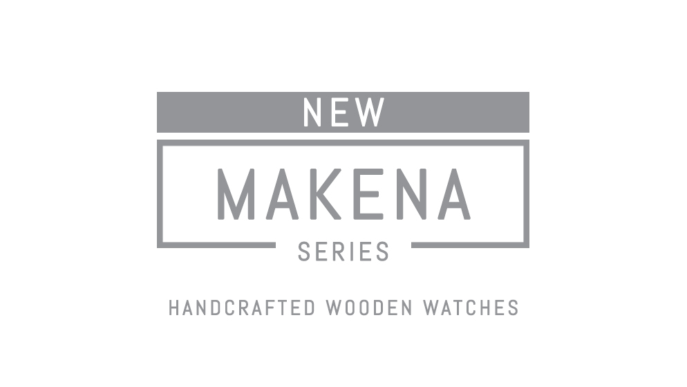 NEW MAKENA SERIES - WOODEN WATCHES